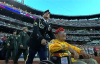 Vets Honored at MLB All-Star Game