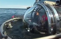 Putin Goes 20 Leagues Under Sea