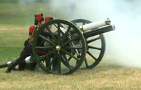 Gun Salutes Celebrate Royal Baby