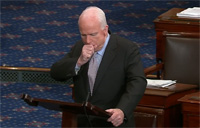McCain Chokes Up Recalling Bud Day