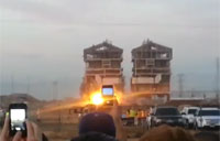 Bakersfield Power Plant Demolition