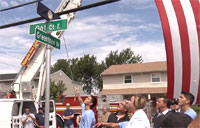 City Names Street After Fallen Marine