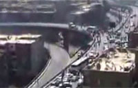Egyptian Humvee Plummets Off Bridge