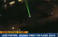 Coasties Targeted by Laser Pointer