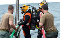 Navy Divers Find Downed F-16C
