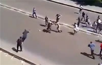 Muslim Brotherhood Attacks Soldiers