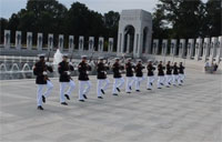 US Marine Corps Silent Drill Team