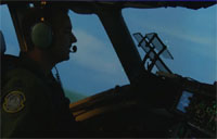 Air Force C-17 Simulator in Action
