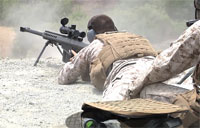 Marines Train on .50 cal Sniper Rifles