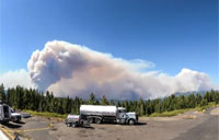Rim Fire Time Lapse, August 2013
