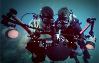 Great Montage of US Navy Divers