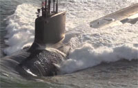 USS Minnesota (SSN 783) in Action!
