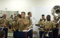 Marine Brass Band Jazzes it Up