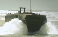 Marine Personnel Carrier Testing