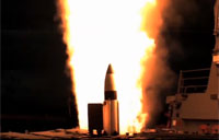 USS Decatur Missile Defense Test
