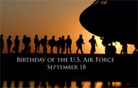 Happy Birthday U.S. Air Force!