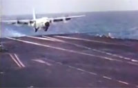 C-130 Hercules Carrier Landing Trials