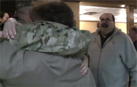 Soldier Surprises Parents for Dinner