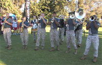 Marine Band Jams Out in San Diego
