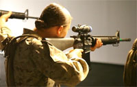 Female Marines Join Infantry Training