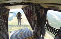 Army Airborne Operation with GoPro
