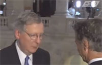 Paul, McConnell Caught on Hot Mic