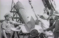 US WWII Automatic Rocket Artillery