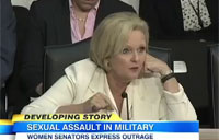 Women Senators Blast Sexual Assault