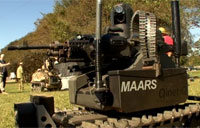 Armed Robots Demo at Fort Benning