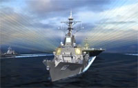 Destroyer Missile Defense Simulation