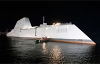 Navy's First Zumwalt Class Destroyer