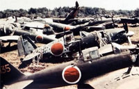 Great Collection of WWII Boneyards