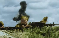 The Red Army of WWII in Color