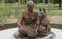 Awesome New War Dog Memorial