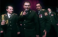 Russian Army Choir Sings Get Lucky