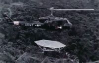 Portable Heliport for Vietnam War - 1966