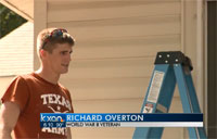 ROTC Fixes Up WWII Veteran's House