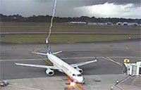 Lightning Strikes Commercial Aircraft