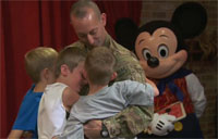 A Magical Reunion for Military Family