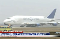 Boeing Dreamlifter Takeoff in Jabara