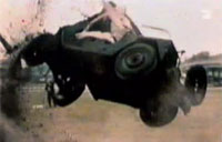 Army Jeep M151 Rollover Test Fail