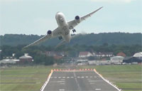 Dreamliner Performs Combat Takeoff