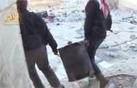 Rebels Do Demolition in Damascus