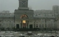 Bomb Blast at Russian Train Station