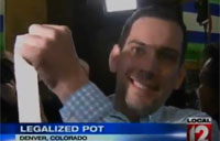 War Vet 1st Person to Buy Pot Legally