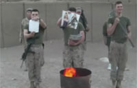 Marines' Final Salute to Fallen Smut