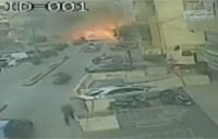CCTV Captures Lebanon Car Bomb