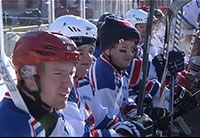 Fallen Heroes Winter Classic at Fenway