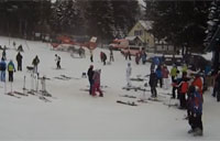 Helicopter Hits the Bunny Slopes