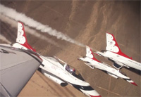 Air Force Thunderbirds - Delta Roll